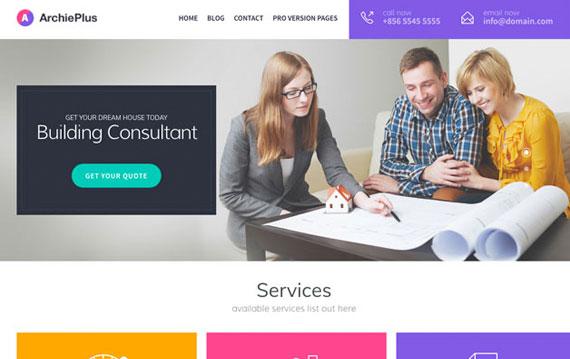 building consultant template