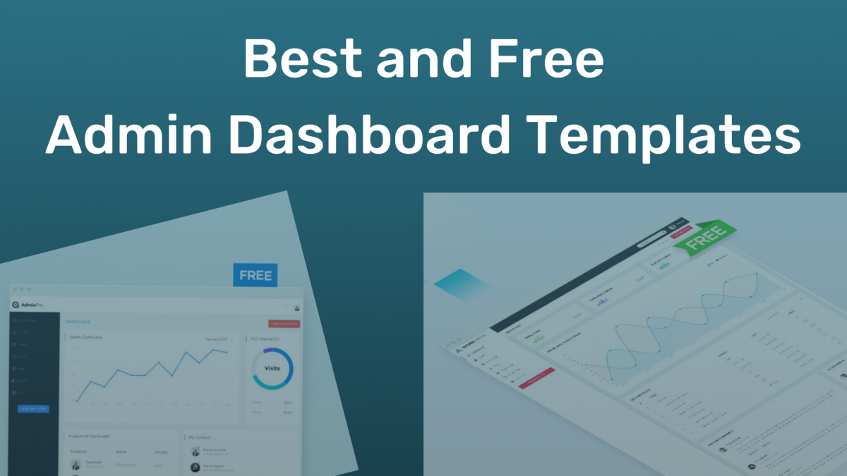 Best and Free Admin Dashboard Templates