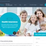 InsurancePress - Bootstrap Insurance Template