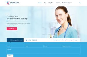 Medical Care - Bootstrap Medical Template